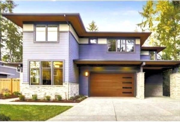 Modern Composite Garage Doors