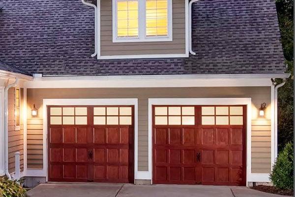 Wood Custom Garage Doors
